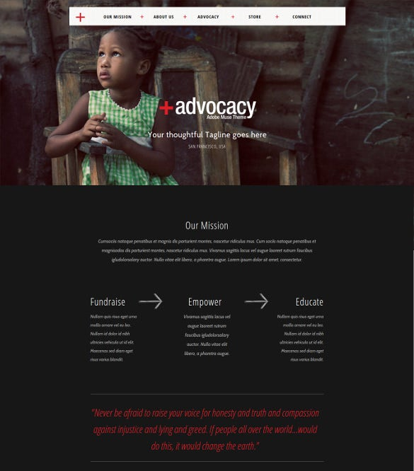 christian muse website template