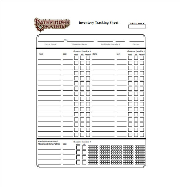 Inventory Spreadsheet Template - 45+ Free Word, Excel Documents ...