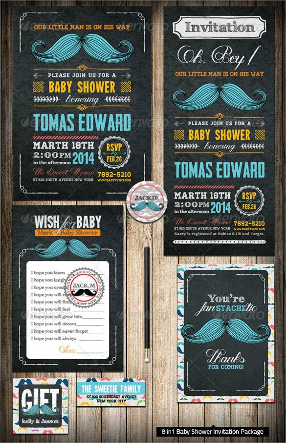 little man baby shower label template