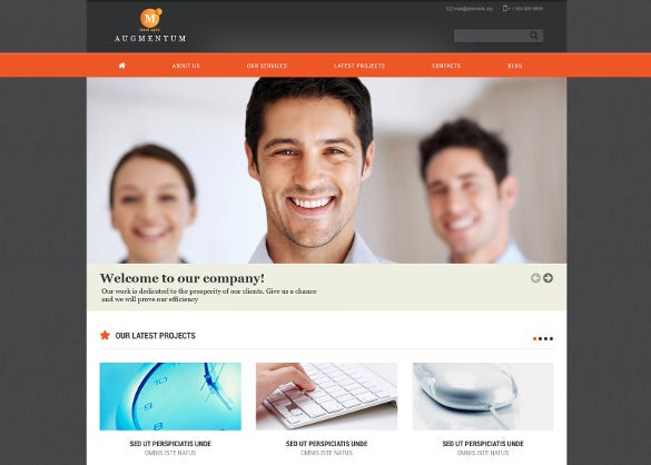 marketing agency responsive joomla template