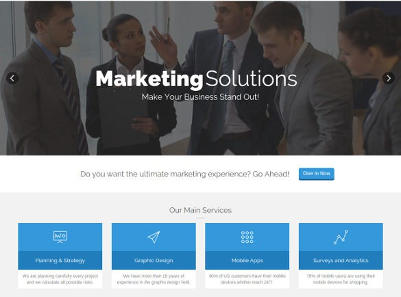 yamato responsive marketing joomla template