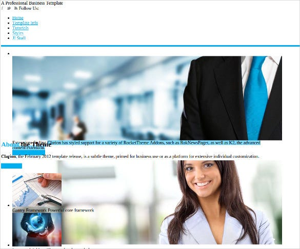 clarion marketing joomlatheme