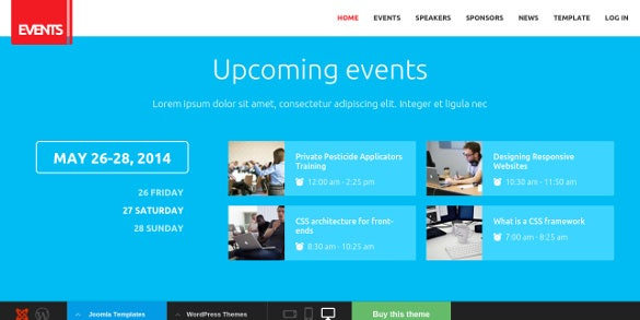 eventmarketing joomla template
