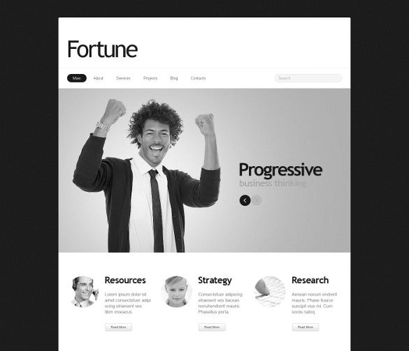 gray marketing agency joomla template