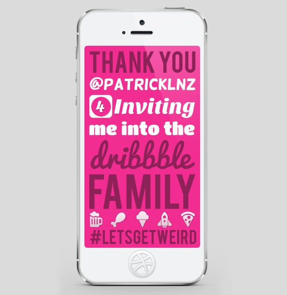 i made it iphone font