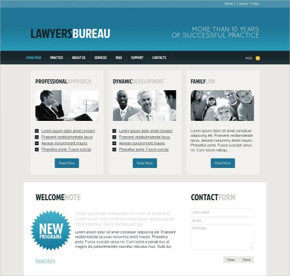 law legal moto cms html website template1