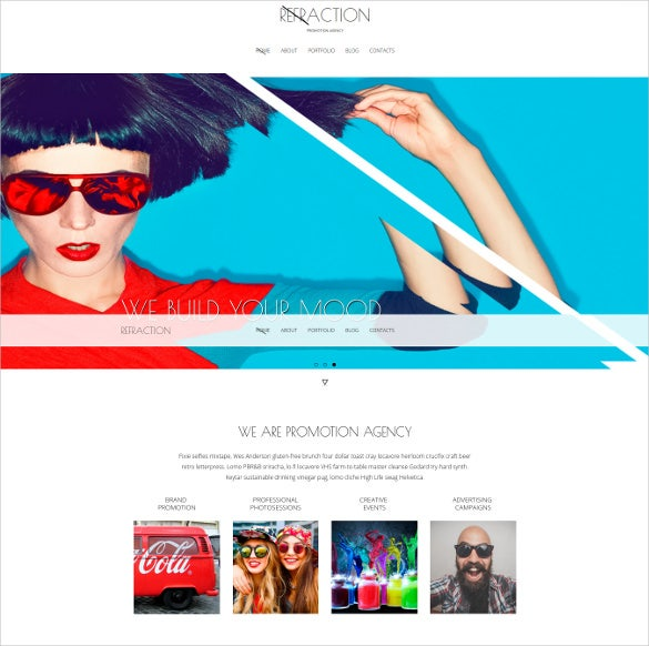 creative agency and blog responsive joomla website theme