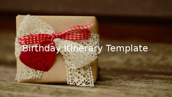birthdayitinerarytemplate1