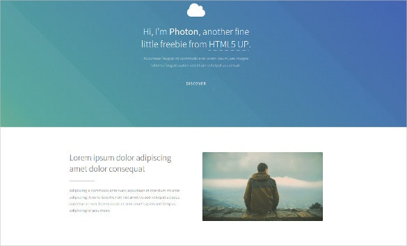free beautiful html5 website template