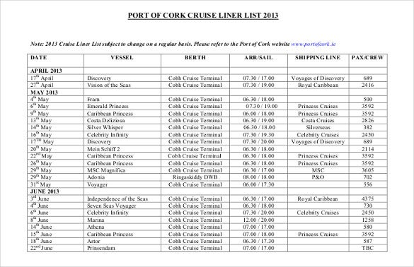 port of cork cruise schedule1
