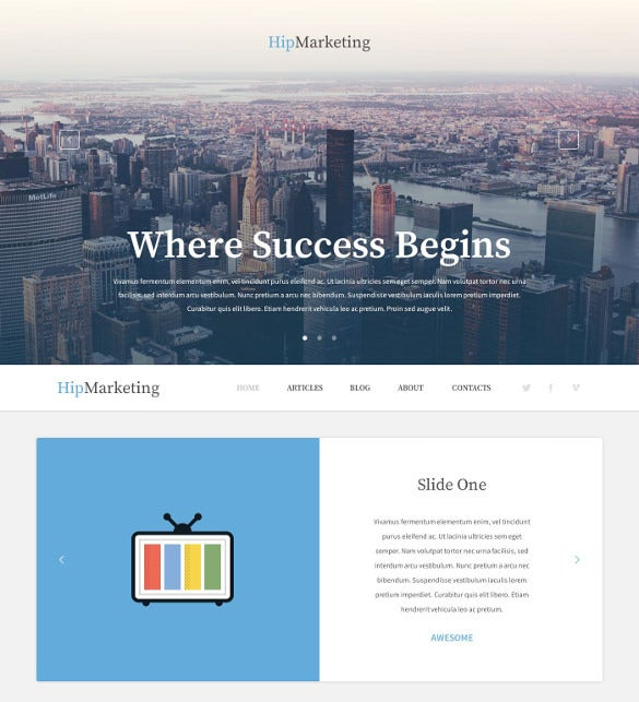 marketing agency responsive wordpress theme1