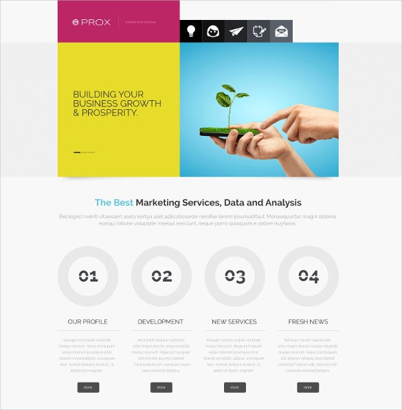 business agency joomla template1