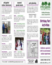 Birthday Party Activities Itinerary Template