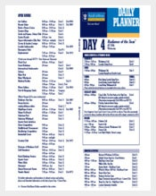 Cruise Campass Itinerary Template