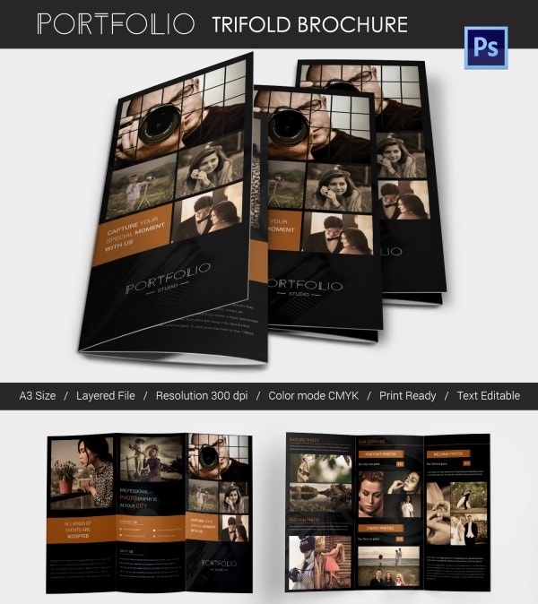 Photography brochure 32 free psd ai vector eps format for Photography brochure templates free