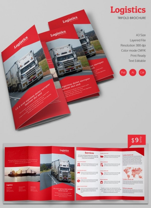 Best Free And Premium Corporate Brochure Templates  Free