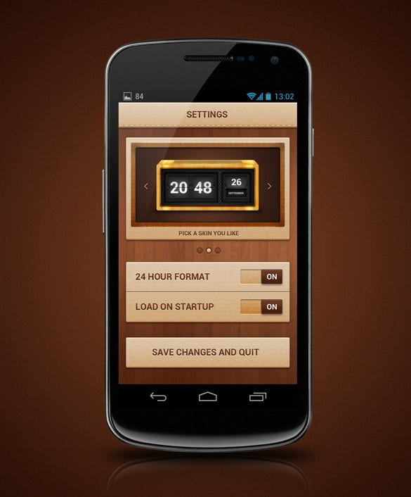 inspirational android application and widget design download