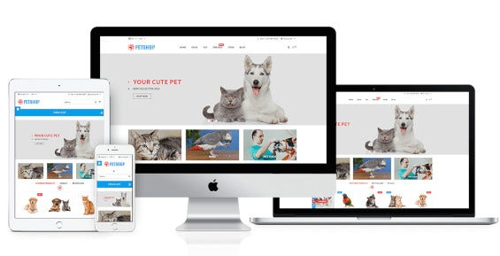 animal care responsive prestashop
