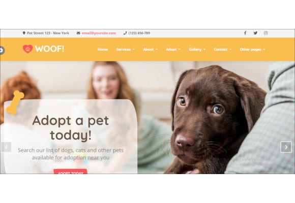 animal-pet-html5-template