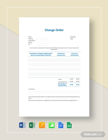 change order template2