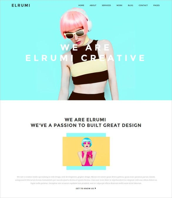 creative html5 bootstrap gallery template11