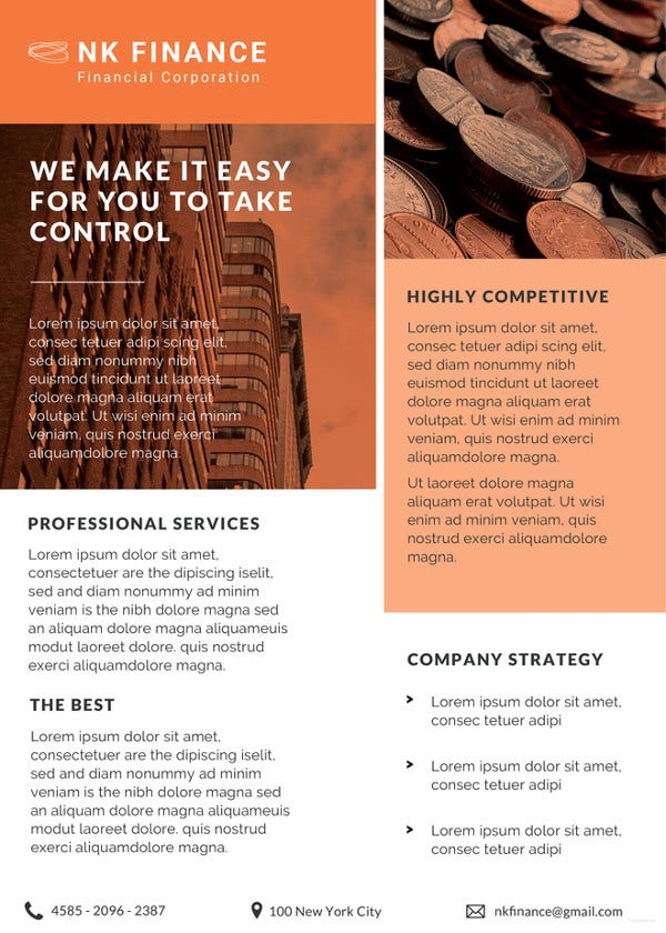 Financial Planners Datasheet