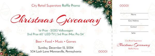 free-christmas-raffle-promo-ticket-template