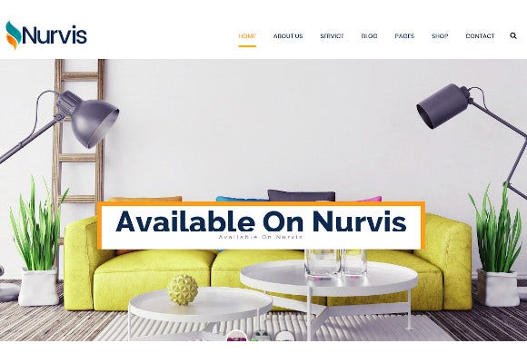 furnitue homestyle bootstrap 4 responsive