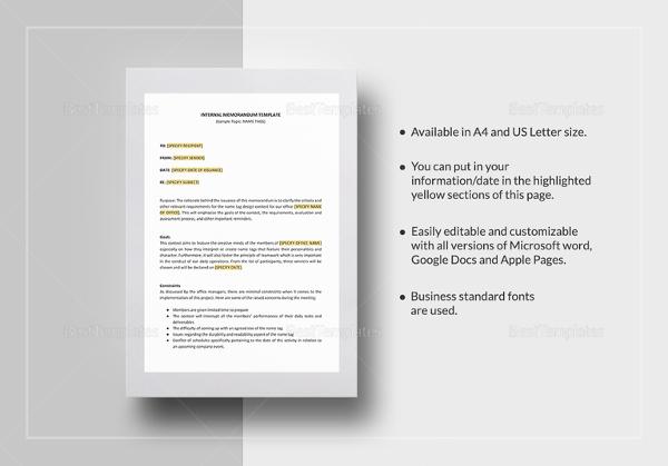internal-memo-template