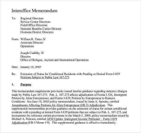 interoffice-law-memo