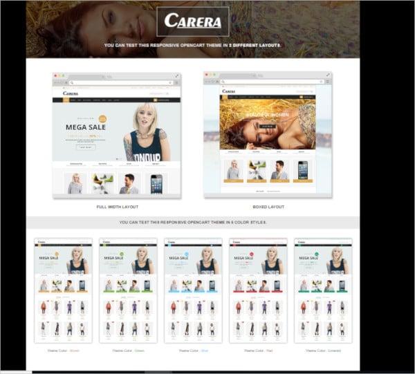 jewelry store responsive opencart theme
