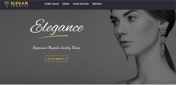 magento responsive jewelry theme