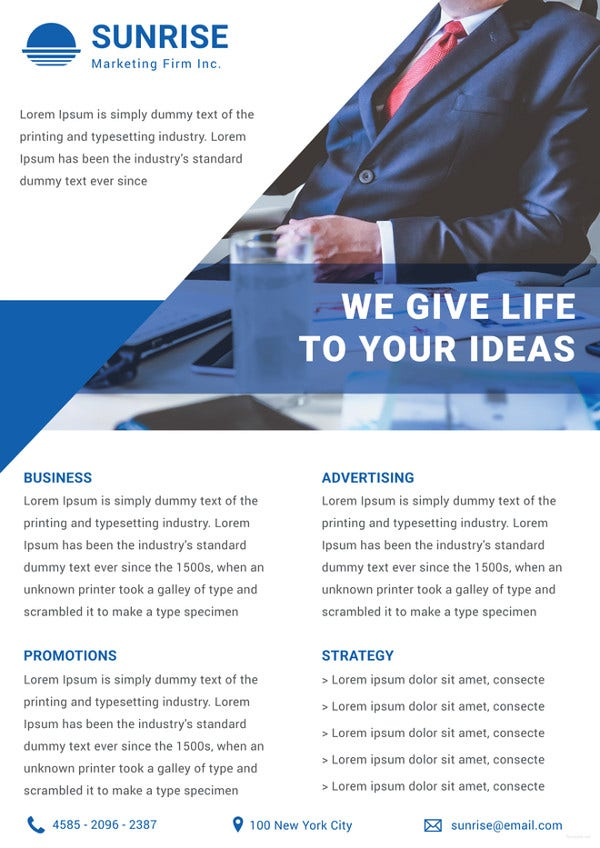 Marketing Firm Datasheet