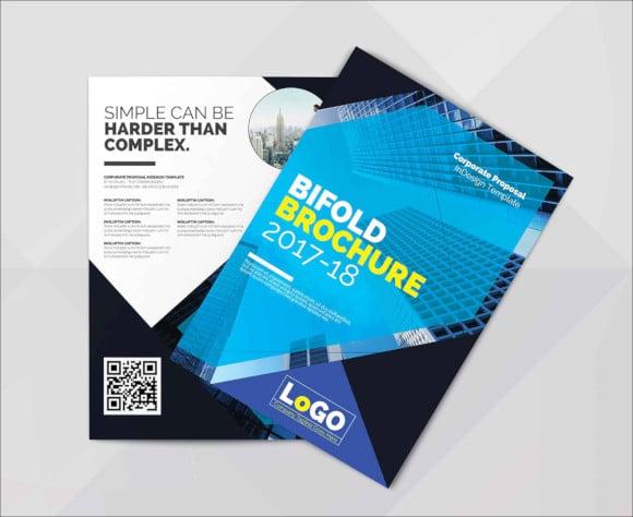 multi purpose indesign brochure template download