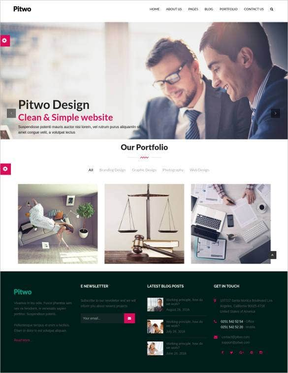 multipurpose wordpress bootstrap 3 gallery templat