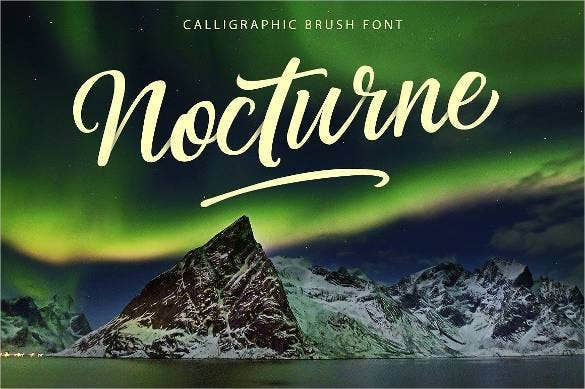 nocturne-brush-font-for-photoshop