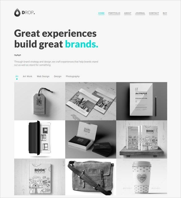 personal portfolio bootstrap gallery template1