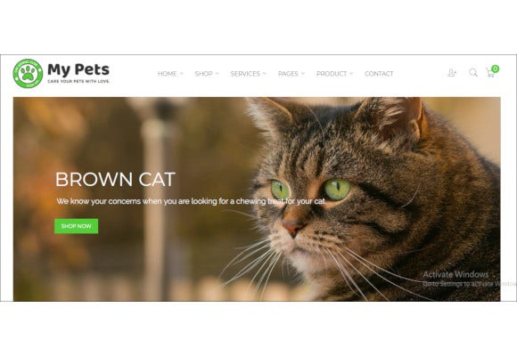 pet sitter pet shop animal care shopify theme