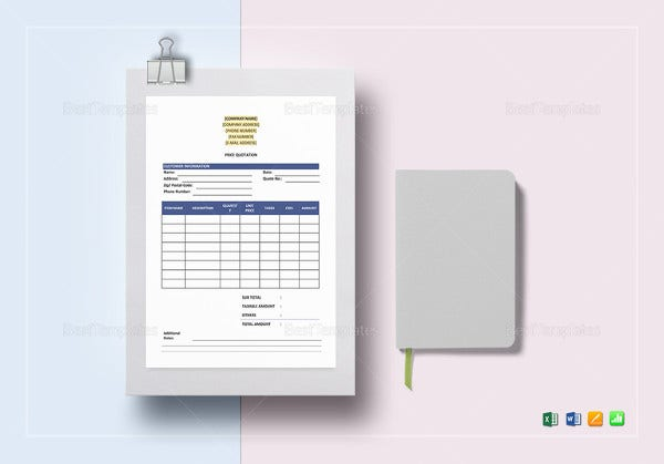 purchase order word template1