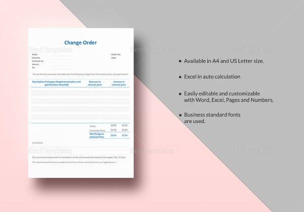 sample-change-order-word-template