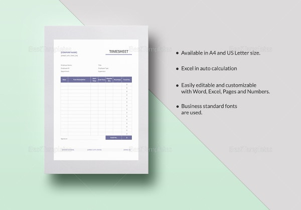 simple timesheet template2