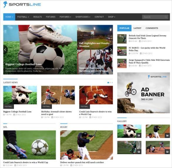 sportsline responsive sports news bootstrap theme1