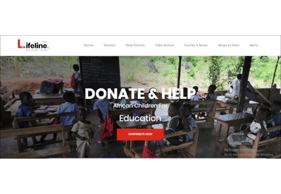 ultimate nonprofit wordpress theme for charity fundraising