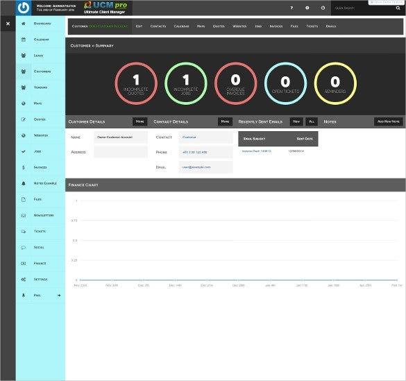 ultimate simple admin dashboard bootstrap template1