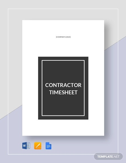 9 printable timesheet templates pages word docs free