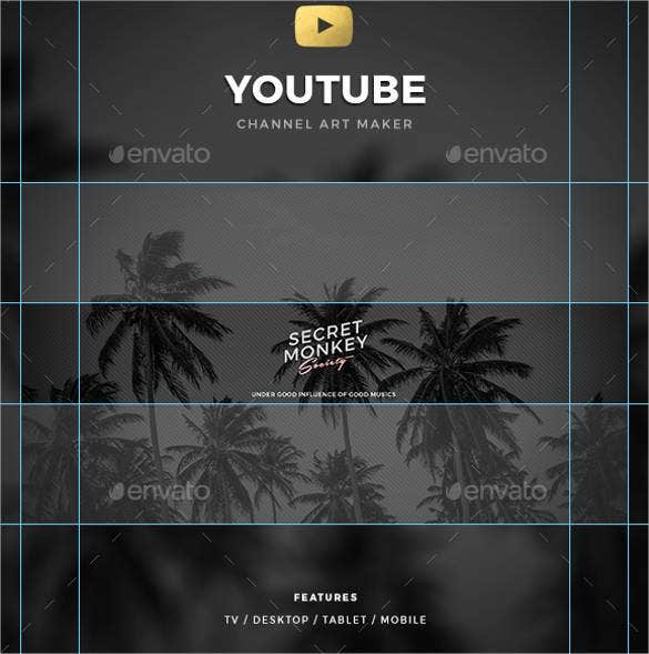 cool youtube channel art maker1