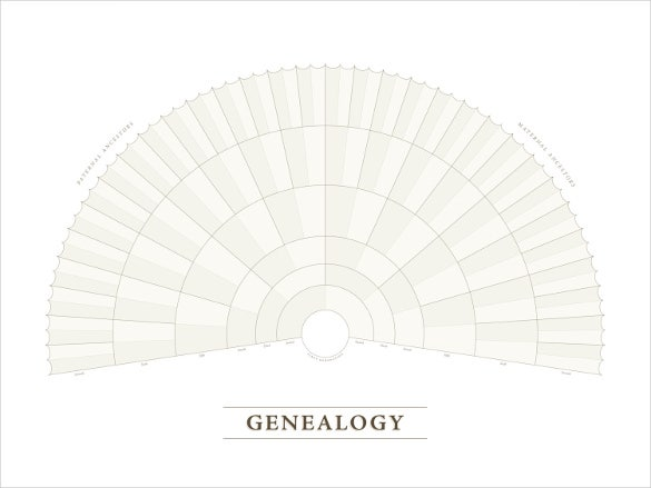 blank genealogy fan chart