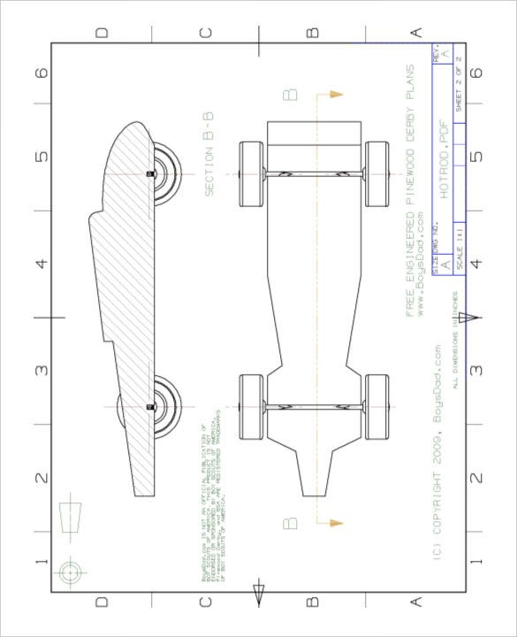 21+ Cool Pinewood Derby Templates – Free Sample, Example Format