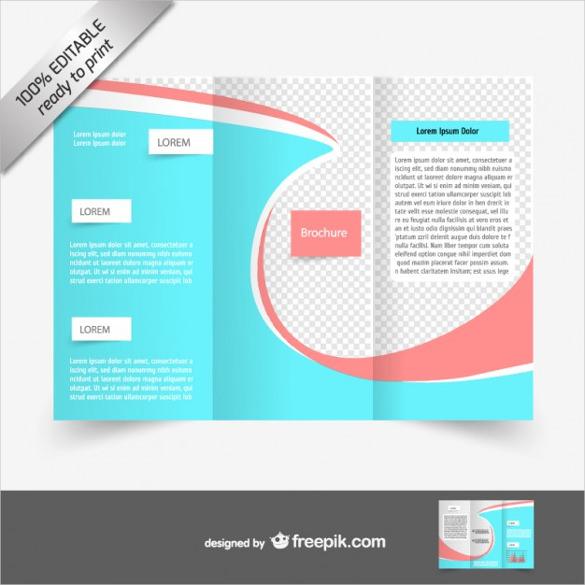 Blank brochure template 17 free psd vector eps ai for Blank brochure templates free download