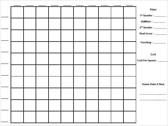 editable 100 square printable editable blank